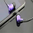 AWEI Q35 Стильный In-Ear Наушники для IPHONE / IPAD / IPOD - Фиолетовый