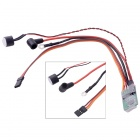 RCD3002 Remote Control Nitro Engine Glow Plug Driver for Aircraft Helicopter - Black