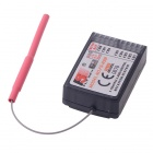 FlySky FS-R9B 2.4G 8 Channels Upgrade Receiver for R/C Glider, Airplane, Helicopter - Black
