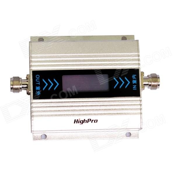 HighPro GSM 890~915MHz / 935~960MHz 1.8'' LED Screen Mobile Phone Signals Booster Repeater цена 2017