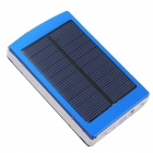 "SOA-011 Portable Solar Panel Powered ""30000mAh"" Li-ion Battery Power Bank - Blue"