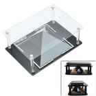 Acrylic Holographic 3D Display Case for Tablets - Black