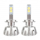 MZ H7 30W MK-R 2400lm 6000K 2-LED White Light Car Fog Lamp w/ Cree - Silver (12~24V / 2 PCS)