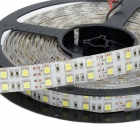 HML IP65 Dual Row 144W 6000lm 5050-600 SMD LED Cold White Light Strip