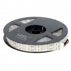 HML IP65 dupla Row 144W 6000lm 5050 x 600 LED SMD Branco Quente Light Strip w / Controle HML (12V / 5M)