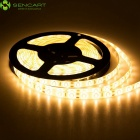 SENCART impermeável 12W 900lm 3500K 300-SMD 3528-LED Warm White Strip - Branco (DC 12V / 5M)