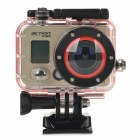 "RD990 Outdoor Sports Diving Waterproof 0.7"" LCD Full HD 1080P 170' WiFi Camera Camcorder - Black"