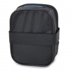 ROSWHEEL 13877 Bike Bicycle Polyester Saddle Seat Tail Bag - Black