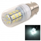 SENCART B22 4W 200lm 6000K 42-5730 SMD LED White Light Bulb - White + Transparent (AC 85~265V)
