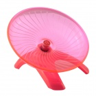 NV0112 Ultra-Quiet Ultra-Stable Anti-bite Running Wheel Ran Disk for Pet Hamster - Pink + Silver
