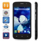"S500 Dual-core Android 4.2 WCDMA Bar Phone w/ 4.0"" Screen, Wi-Fi and Bluetooth - Black"