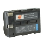 DSTE D-LI50 2300mAh Rechargeable Li-ion Battery for Camera PENTAX + More - Black + Light Grey