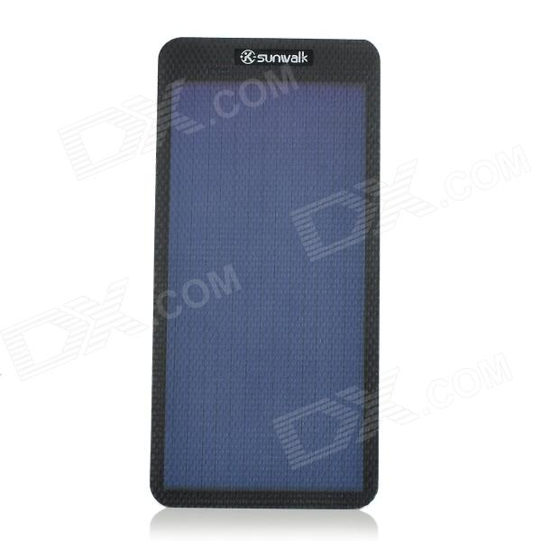 SUNWALK SWR1 1W 1.5V Foldable DIY Amorphous Silicon Solar Cell Panel - Black