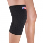 ShuoXin SX607 Breathable Sports Knee Guard Protector - Black