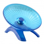 NV0111 Ultra-Quiet Ultra-Stable Anti-bite Running Wheel Ran Disk for Pet Hamster - Blue + Silver