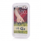 Protective Waterproof Shockproof PC + Silicone Case Cover for LG G2 - White
