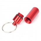 Aluminum Pill Shaped Keychain (Color Assorted)