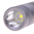 NEW-B04 600lm 5-Mode White Light Flashlight w/ XM-L2 - Titanium Gray (1 x 18650)
