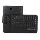 EPGATE D00299 Wireless Bluetooth V3.0 64-Key Keyboard + PU Case for Samsung Tab4 T230 - Black