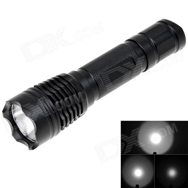 NEW-B05 800lm 5-Mode White Light Flashlight w/ XM-L2 - Black (1 x 18650) new b06 800lm 5 mode white light flashlight w cree xm l2 black 1 x 18650