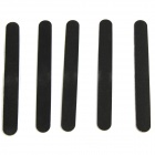 Nail Care & Art Manicure Sanding Nail File Polishing Tool - Black