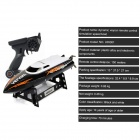 UDI UDI001 Wireless Remote Control Boat / Speed Boat Shatterproof Model - Black + White (4 x AA)