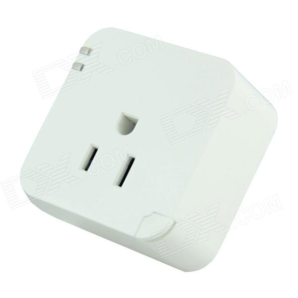 APP Wireless 10A Smart NEMA5-15 Plug Socket - White (AC 90V~265V)