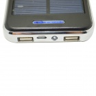 "ODEM Solar Powered ""48000mAh"" Li-polymer Battery Charger Power Source Bank - Black + Silver"