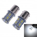1156 6.5W 230lm 6000K 13-5730 SMD LED White Light Steering Light / Back-up Light (2 PCS)
