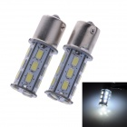 1156 9W 330lm 6000K 18-5730 SMD LED White Light Steering Light / Back-up Light (2 PCS)