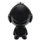 Tonlion Cute Cartoon Portable USB 2.0 Mini Speaker w/ 3.5mm for Cellphone / MP3 + More - Black