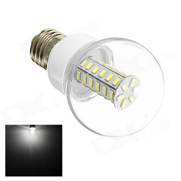 GCD E27 6W 280lm 6000K 42 x SMD 5730 LED White Light Lamp Bulb - White (AC 220~240V)