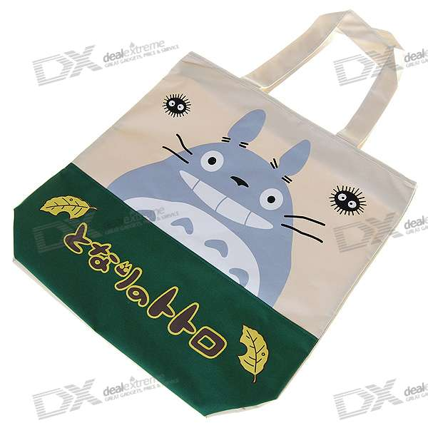 Cartoon Style Reusable Handbag Shopping Tote Bag (Assorted)