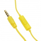 Havit E30P Universal 3.5mm Plug Wired Stereo In-ear Earphone w/ Microphone - Yellow
