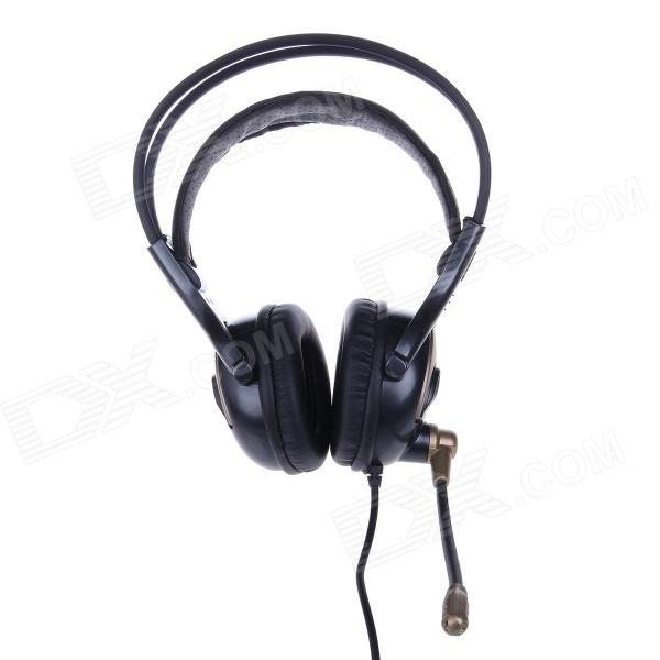 KEENION KDM-311A 3.5mm Wired Stereo Game Headset w/ Microphone - Black