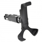 Car Holder with Charger for Mobile phone / GPS / MP4 - Black