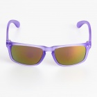 OREKA Purple REVO Lens UV400 Sunglasses - Translucent Purple
