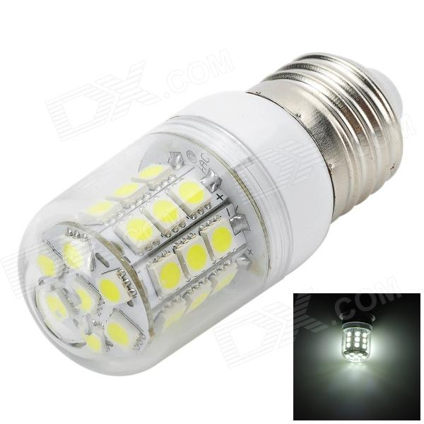 Marsing E27 3.6W 350LM 6500K 31-5050 SMD LED 6500K White Light Corn Lamp - White (AC 220~240V)