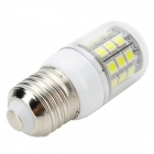 Marsing E27 3.6W 350lm 31-5050 SMD LED Cold White Corn Lamp (220~240V)