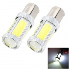 Marsing High Power 25W 1156 5-COB 2300lm 6500K Cool White LED Car Brake / Reverse Light (2 PCS)