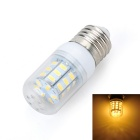 Marsing E27 6W 500LM 3500K 27-5730 SMD LED Warm White Light Corn Lamp - White + Yellow (AC 220~240V)