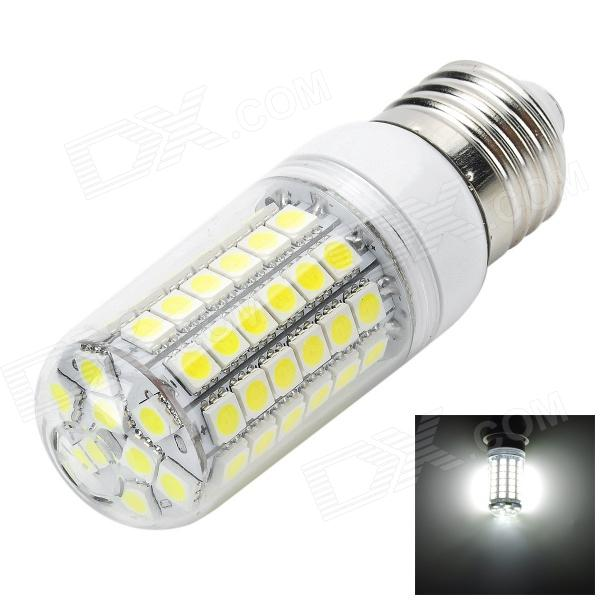 Marsing High Brightness E27 6W 600lm 69-5050 SMD LED Cool White Lamp