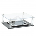 Holographic 3D Display Case for IPHONE + More - Black + Transparent
