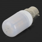 SENCART B22 4W 200lm 3500K 42-SMD 5730 LED Warm White Lamp - White + Off-white (AC 85~265V)