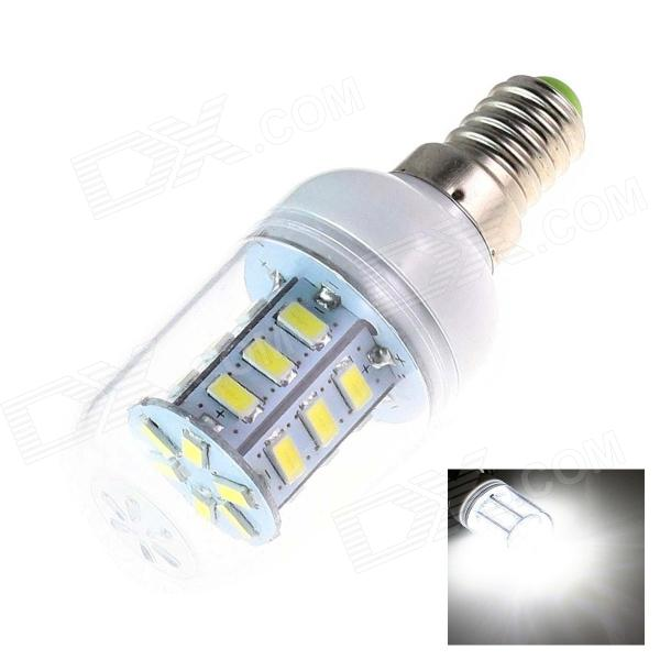 Gotrde E14 5W 280lm 24-SMD 5730 LED Cold White Light Lamp (AC220~240V)