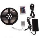 LI-CECI 72W 4000lm 300-5050 SMD LED RGB Light Strip + 24-Key Remote Control + EU Plug Power Adapter