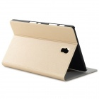 Flip Open PU + PC Case w/ Stand / Card Slots for Samsung Galaxy Tab S 8.4 T700 - Champagne Gold