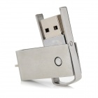 Ourspop U527 Rotary USB 2.0 Flash Drive - prata (64GB)