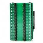 QFP44 to DIP44 IC Programmer Socket Adapter - Green + Black
