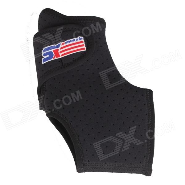 ShuoXin SX662 Sports Basketball Elastic Ankle Foot Brace Support Wrap - Black new yongnuo yn565ex yn565 ex ittl flash speedlite for nikon d3x d3s d2x d700 d300s d300 d200 d60 d40x d40 d90 d80 d5100 d7100
